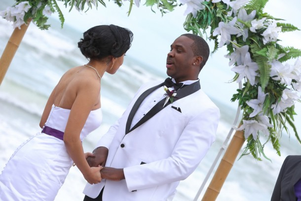 Tavares & Tiffany's Beach Wedding