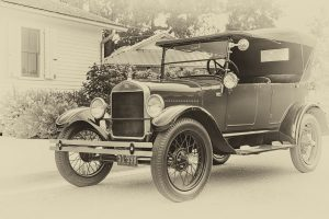 1927 Ford Model T - Classic Car Photography