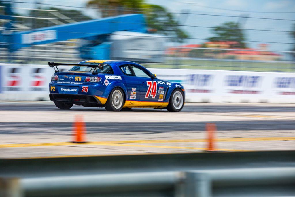 Mazda racing at Sebring